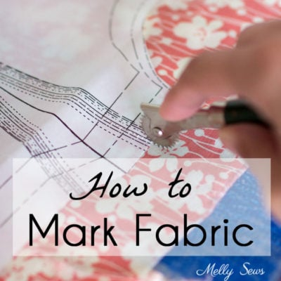 How to Mark Fabric – Marking Tools