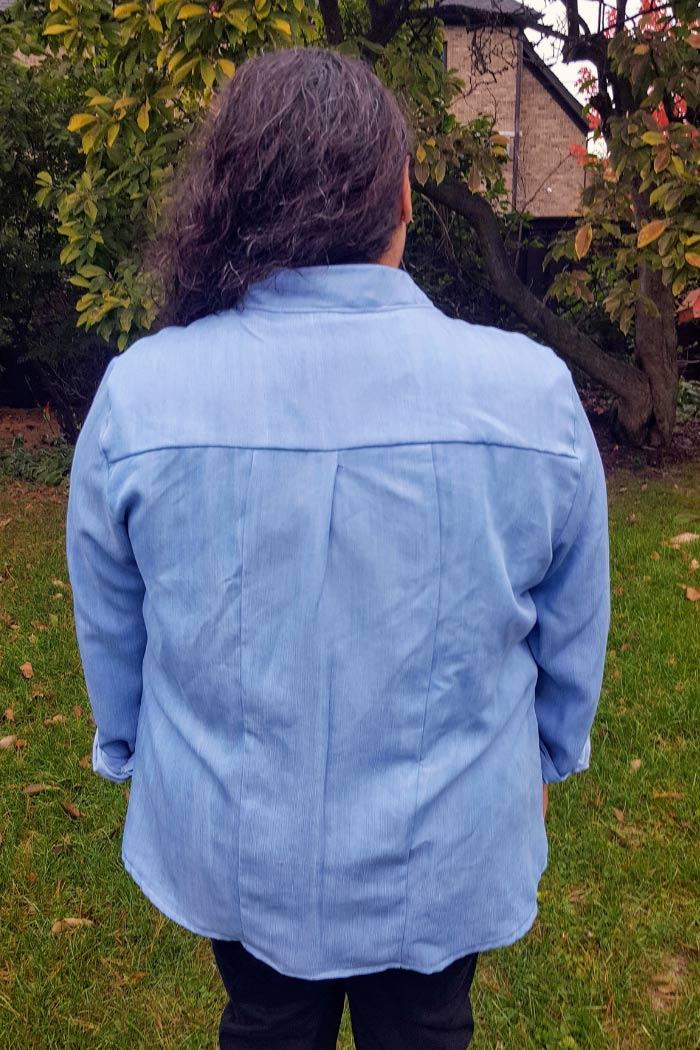 Novelista Shirt sewing pattern from Blank Slate Patterns