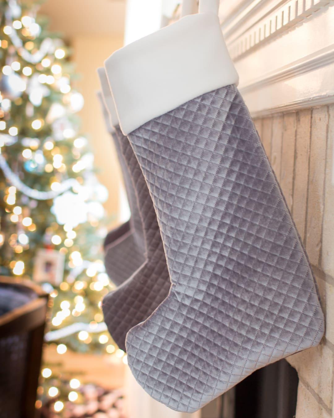 Christmas Stockings Diy.Sew Christmas Stockings Diy Stocking Tutorial Melly Sews