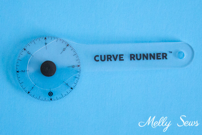 Curve Runner - Sewing Notions - 5 Gadgets to Make Sewing Easier - Melly Sews