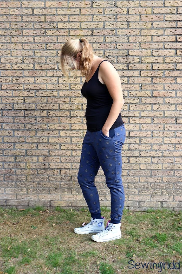 Skye Joggers by Blank Slate Patterns sewn by Sewingridd