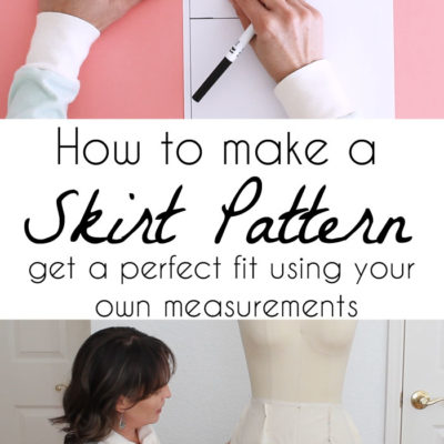 How to Make a Skirt Pattern – Draft a Skirt Sloper or Block