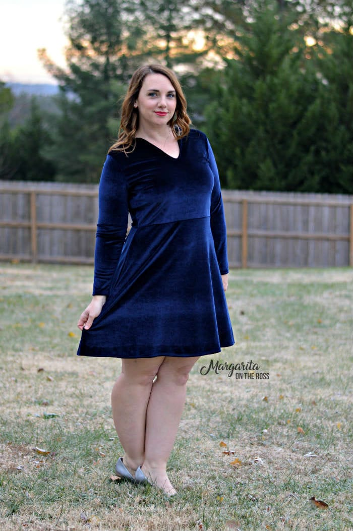 Marbella Dress sewing pattern from Blank Slate Patterns sewn by Margarita on the Ross