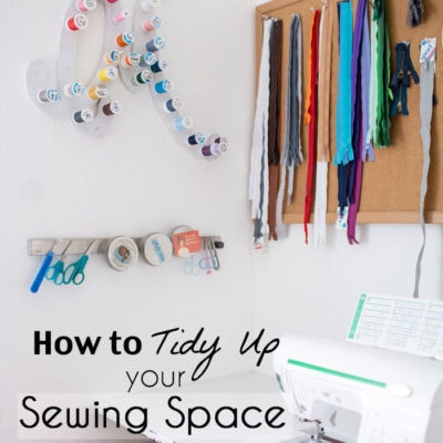 Using the Marie Kondo Method to Tidy Up Sewing Rooms