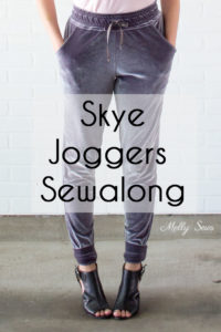 Joggers Sewalong - Make the Blank Slate Patterns Skye Joggers Pattern