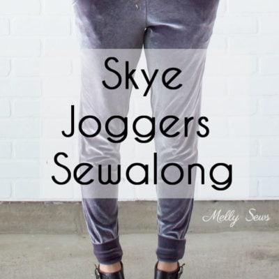Sewalong – Jogger Pants Tutorial