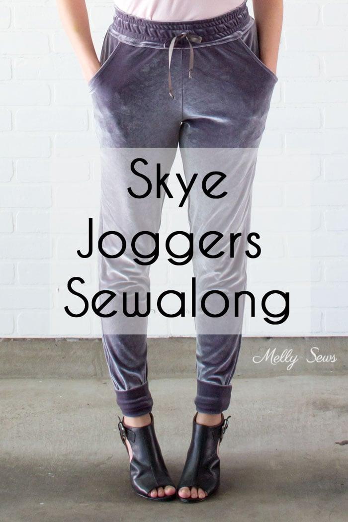 Joggers Sewalong - Make the Blank Slate Patterns Skye Joggers Pattern