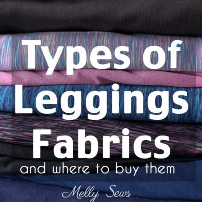 Types of Leggings Fabric and Where to Buy Fabric for Leggings