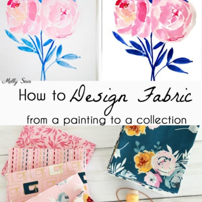 How to Design Fabric – the Story of Blooms and Bobbins