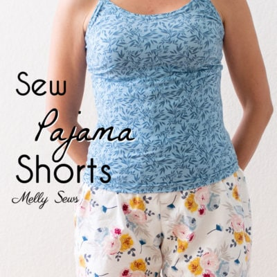 Sew Pajama Shorts – Easy Project with Free Pattern