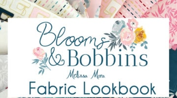 Projects sewn with Blooms and Bobbins fabric by Melissa Mora for Riley Blake Designs