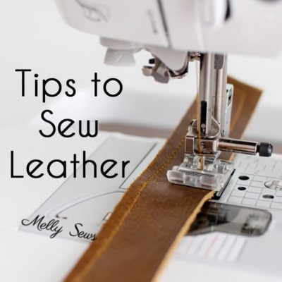 How to Sew Leather – Tips and Tricks