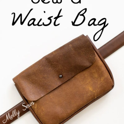 DIY Waist Bag – Belt Bag Tutorial