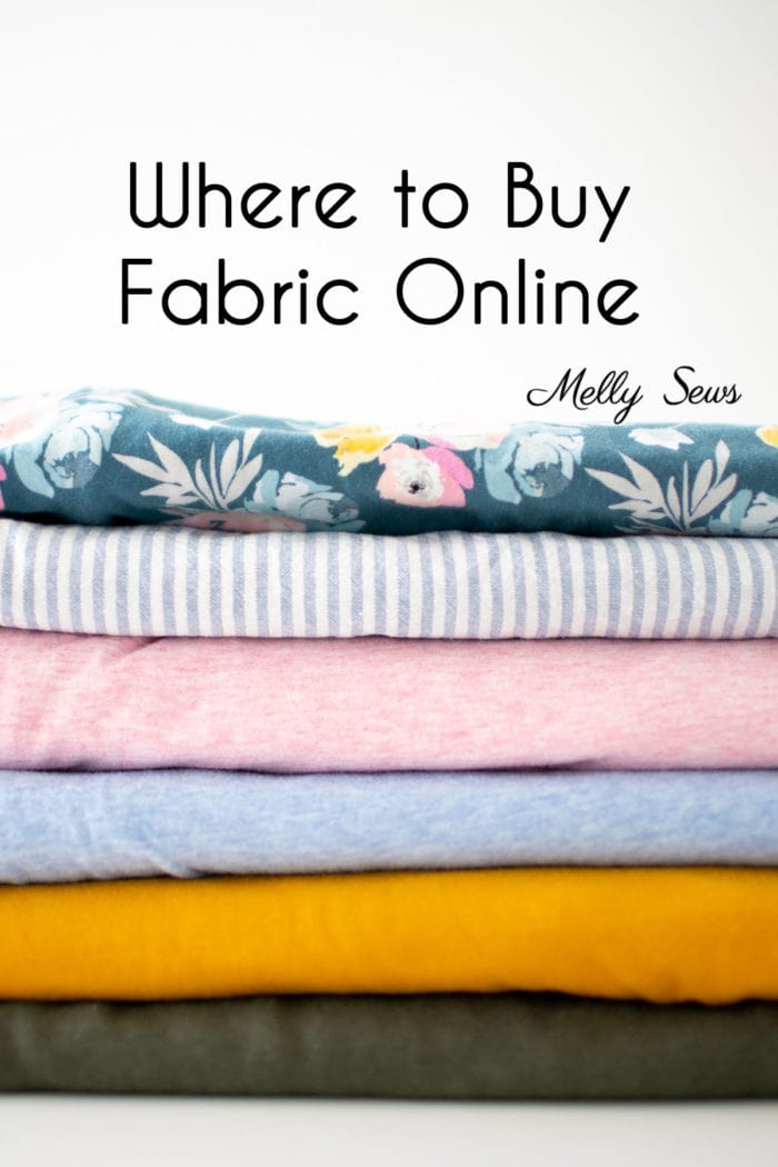 Where to Buy Fabric Online - my favorite stores and what I buy at each.