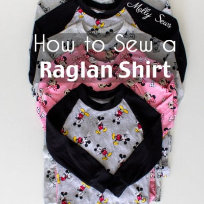 Raglan Shirt Pattern for Kids – Pajama Top