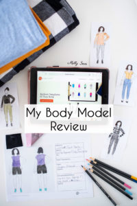 Review of the My Body Model app for creating custom personal croquis