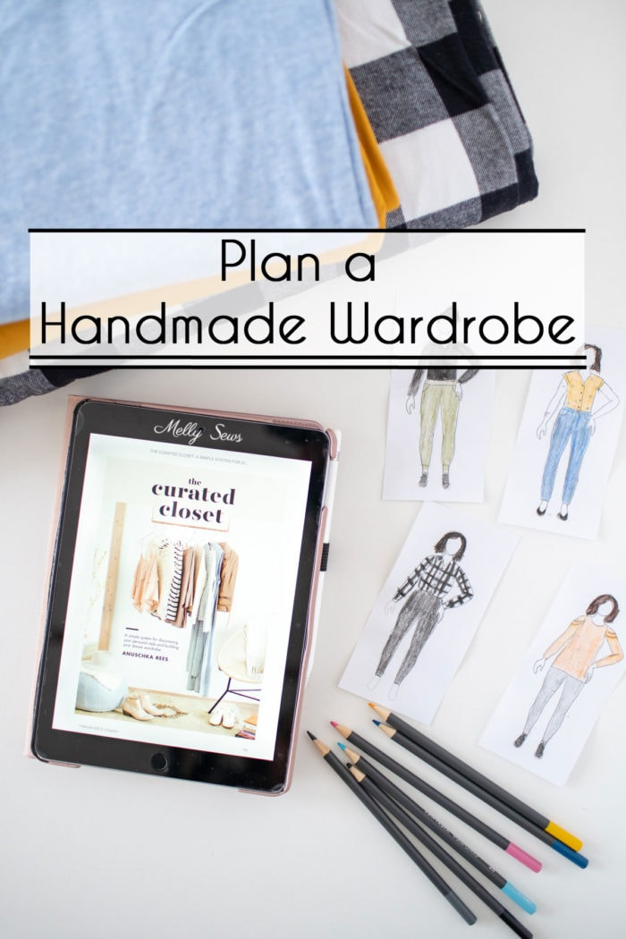 Wardrobe planning for sewing - using the Curated Closet book as a guide