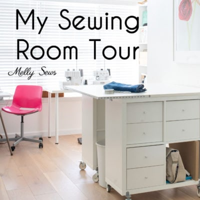 Sewing Room Tour – a Creative Home Office