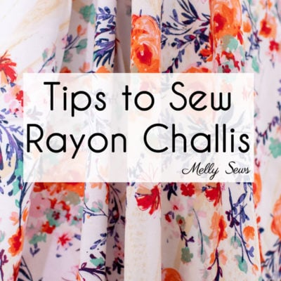 How to Sew Rayon Fabric
