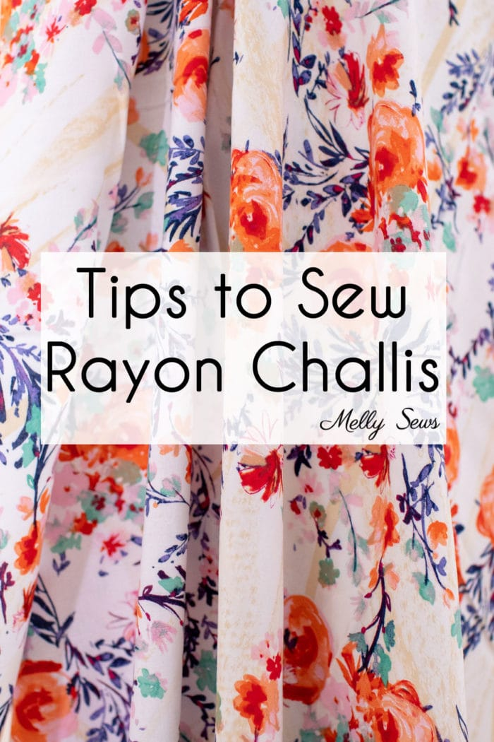 How to Sew Rayon Fabric - Tips and Tricks for Using Viscose Material