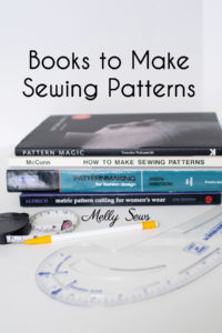 How to Make Sewing Patterns - Use These Books to Learn to Draft Patterns