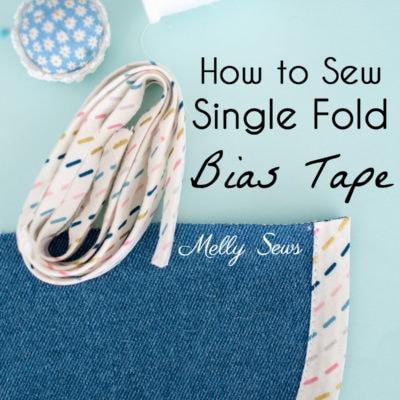 How to Use Single Fold Bias Tape
