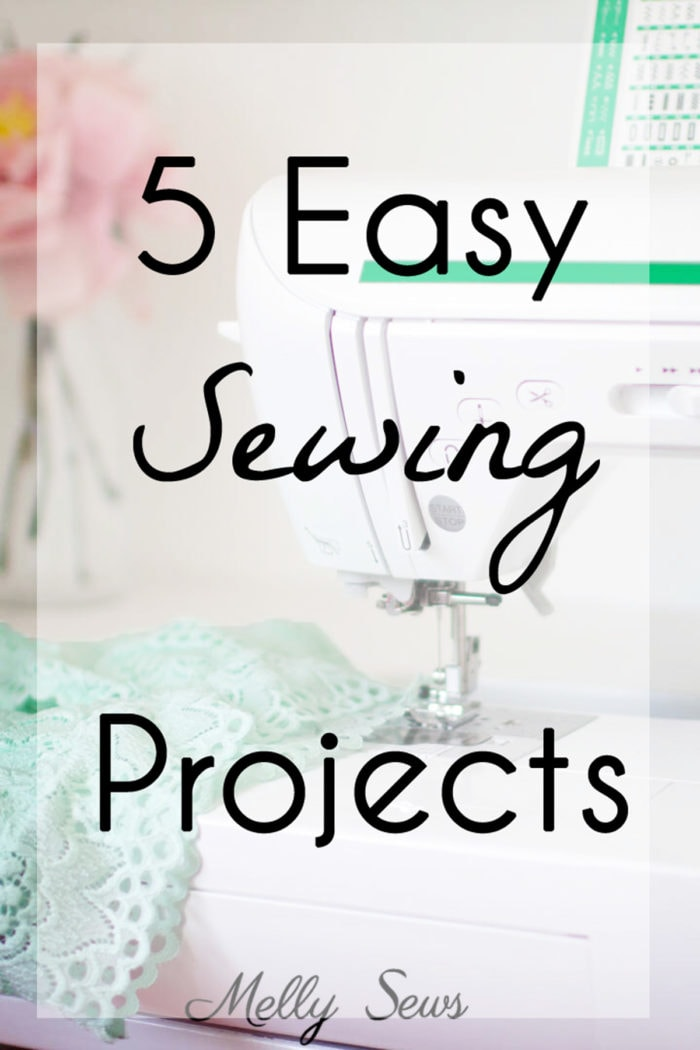 5 Easy Sewing Projects for Beginners to Make