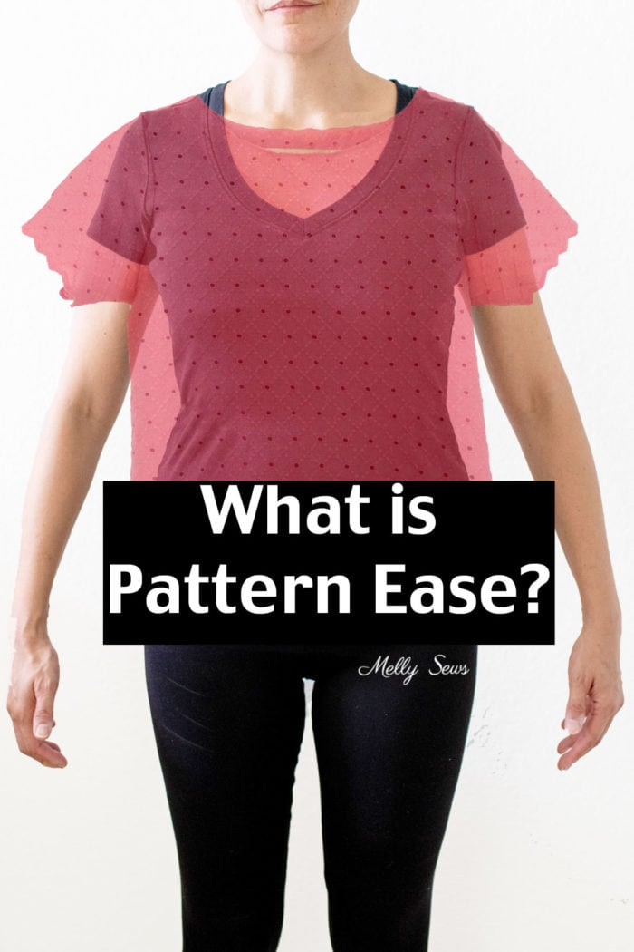 Sewing pattern vs body - understanding pattern ease and how to figure out finished measurements