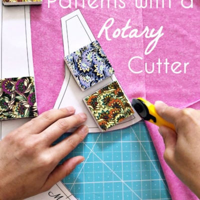 How to Cut Out Patterns with a Rotary Cutter