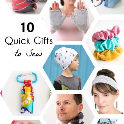 Gifts to Sew – 10 Quick Makes