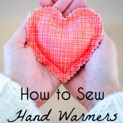 Sew Handwarmers – A Scrappy Gift