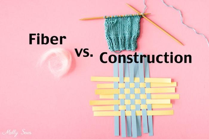 Fibra vs construcción: dos propiedades que le dan a la tela sus características