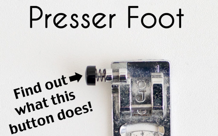 Self Leveling Presser Foot for Sewing - J Foot Tutorial