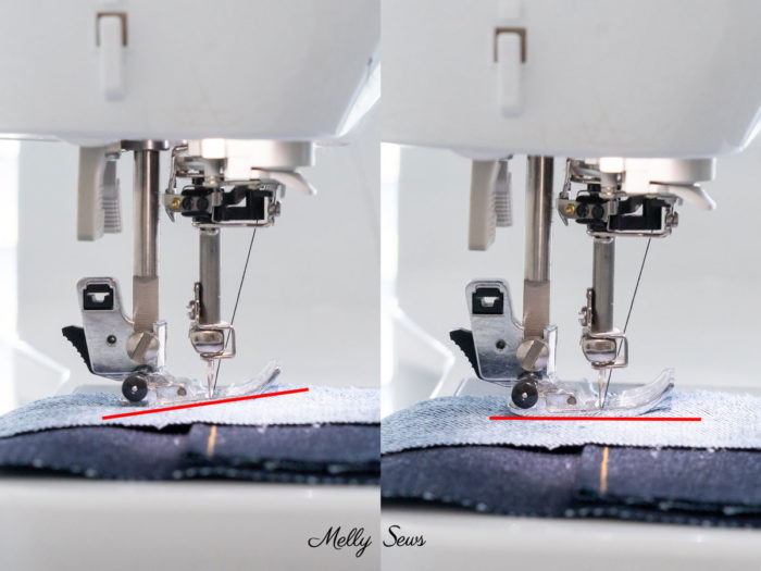 How to Use a Self Leveling Presser Foot when sewing